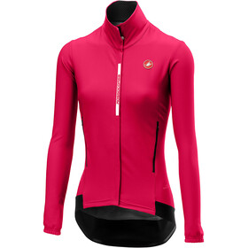 Castelli Perfetto Maillot à manches longues Femme, electric/magenta